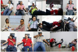 Colaboradores de J. Cain contribuyen con Donación de sangre
