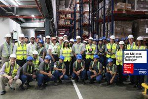 J Cain entre los mejores Lugares para Trabajar en Centroamérica y Caribe