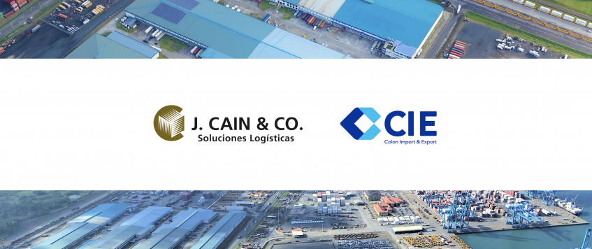 J. Cain & Co. and Colon Import & Export have merged and consolidated as the leader in logistics services for multinational companies in Panama.