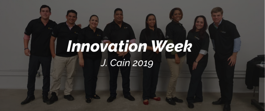 Innovation Week J. CAIN 2019